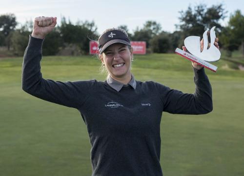 Segunda victoria española para la sueca Johanna Gustavsson