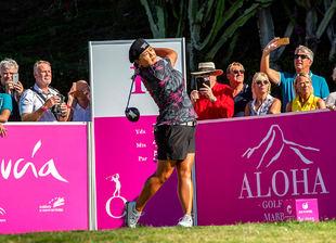 Christina Kim logra hoyo en uno en el 17 de Aloha Golf
