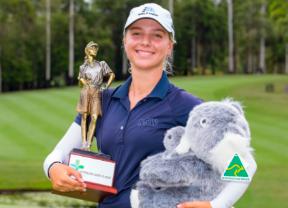 La amateur Stephanie Kyriacou gana el Australian Ladies Classic Bonville