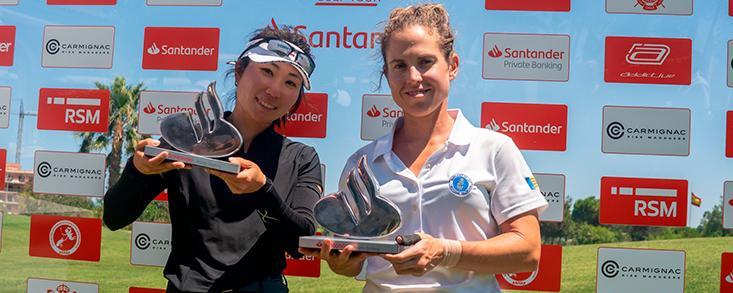Almudena Blasco y Maho Hayakawa, campeonas tras un épico final