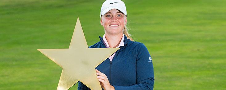 Maja Stark, el triunfo de la juventud en el Estrella Damm Ladies Open