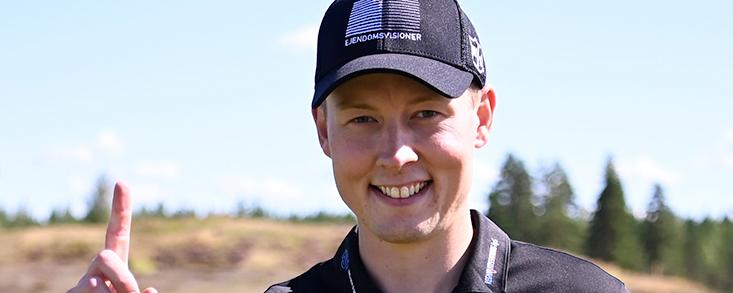 La victoria en el Vierumäki Finnish Open se pone a tiro de Marcus Helligkilde