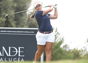 María Parra no espera y toma posiciones en Sotogrande
