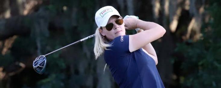 Maude-Aimee Leblanc, primera líder en el Florida's Natural Charity Classic