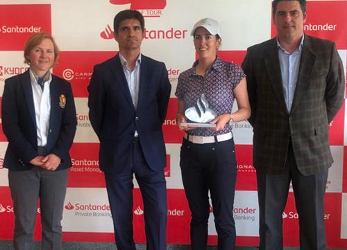 Mireia Prat esquiva los bogeys y gana el Santander Tour de Basozábal