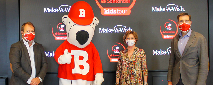 Acuerdo Oso Bogey Santander Kids Tour y Make-A-Wish Spain