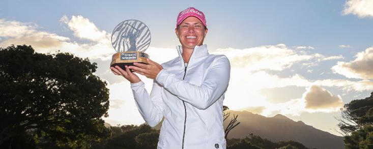 Lee-Anne Pace se hace con el Abierto de Sudáfrica por cuarta vez