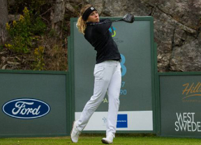 Pauline Roussin Bouchard lidera el Didriksons Skafto Open con -10