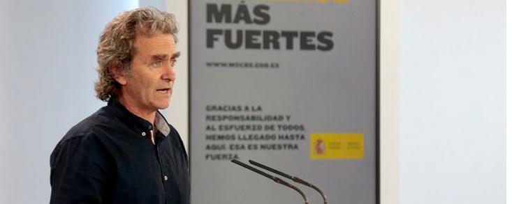 Simón felicita a Madrid por su buena evolución
