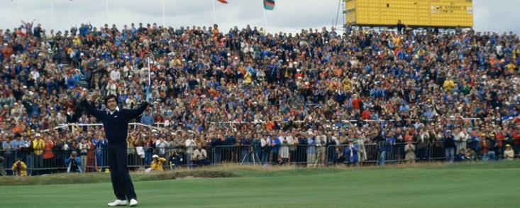Hace 31 años de la victoria de Seve Ballesteros en este mismo campo