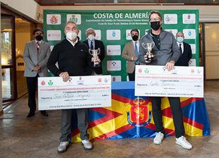 Carlos Suneson, brillante Campeón de España de Profesionales Senior
