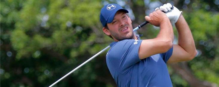 El exquarterback Tony Romo jugará un torneo del PGA Tour
