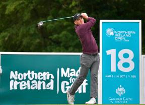 Tyler Koivisto aprovecha su -10 para tomar el mando en el Northern Ireland Open