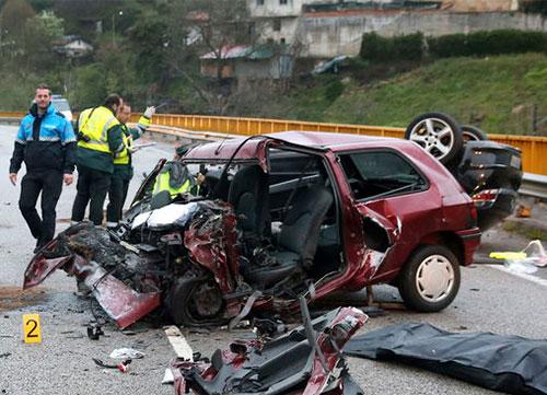 Las bajas por accidentes de tráfico cuestan unos 175 millones de euros/año