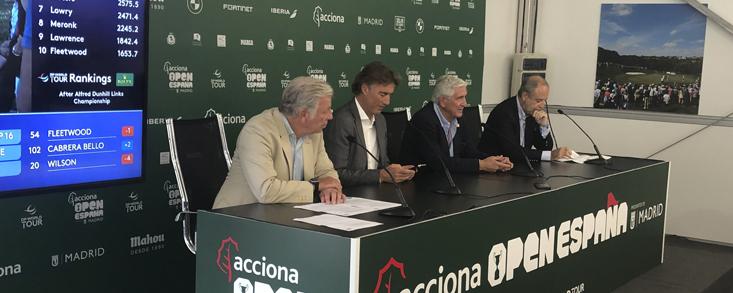El Open de España en el Club de Campo con el patrocinio de Acciona y con Rahm
