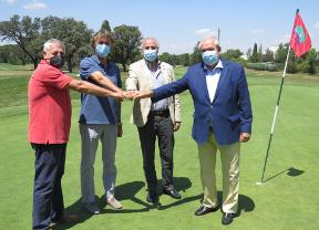 Firmado el convenio para la celebración en el Club de Campo Villa de Madrid del Open de España