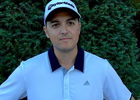 Fernando Adarraga, líder en la final de Golf Santander