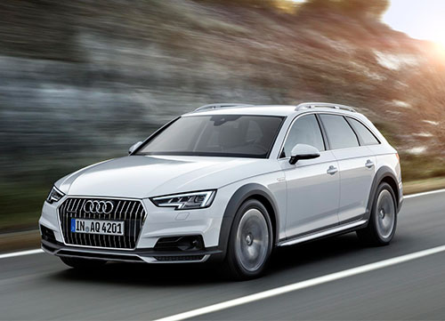 El campero de la familia Audi
