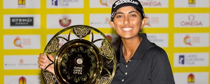 El golf femenino tiene otra estrella, la india Aditi Ashok