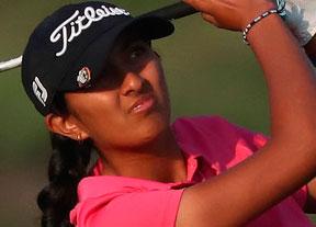 Aditi Ashok accede al liderato con Luna Sobrón séptima en otra ronda bajo par
