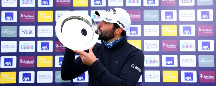 Adrián Otaegui suma su tercera victoria europea tras una última jornada memorable