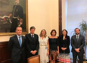 La AECG se reúne con la Secretaria de Estado de Hacienda