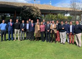 La Asociación Española de Campos de Golf estrecha lazos con Madrid