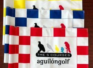 Aguilón Golf cambia sus banderas