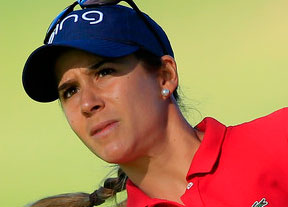 Paso atrás de Azahara Muñoz en Rancho Mirage