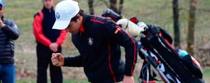 Alejandro del Rey revalida título en Sojuela Golf