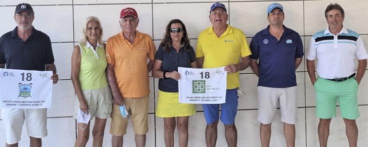 Jordan Gibb y Víctor García, ganadores en Alenda Golf