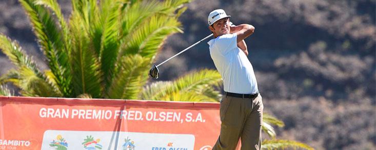 El Gran Premio Fred Olsen entra en erupción en Tecina Golf