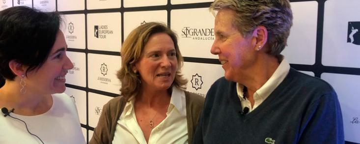 Alicia Garrido y Marta Figueras Dotti, apuesta total por el golf femenino
