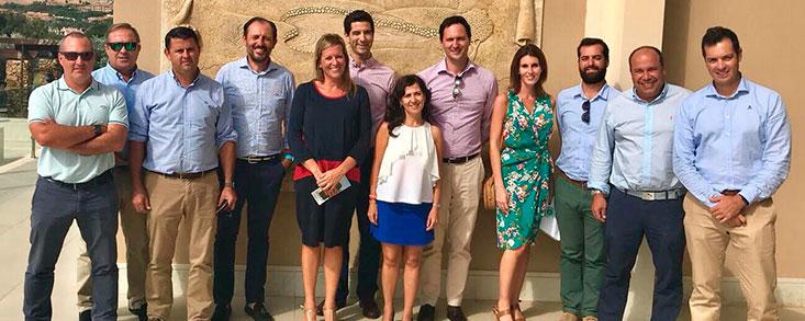 Reunión de directores de campos de golf de Almería