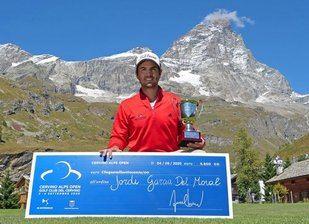 Gran victoria de Jordi García del Moral (-15) en Italia