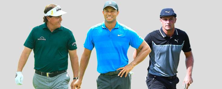 DeChambeau, Woods, Phil...¿y Finau?