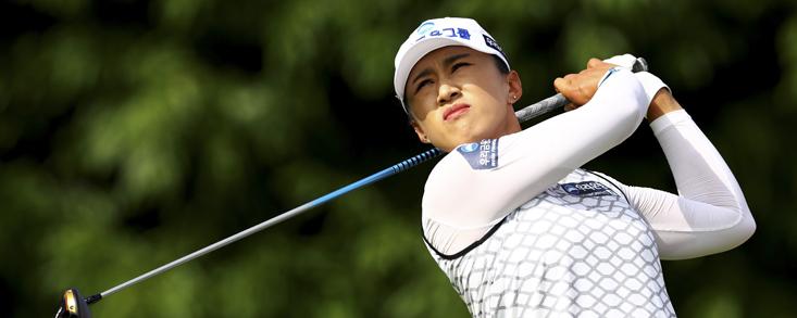 Amy Yang (-13) lidera en solitario y Carlota Ciganda (-1) se queda fuera