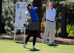 Ana Belac deja casi decidido el Carolina Golf Classic