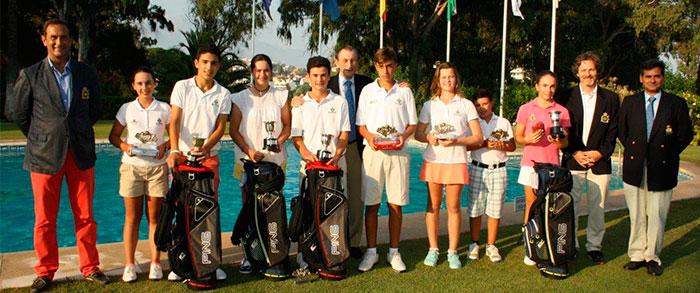 Campeonatos Benjamín, Alevín e Infantil de Andalucía