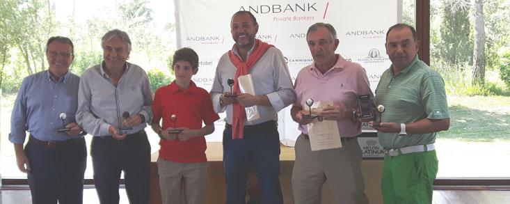 El Torneo de Golf Andbank reúne a más de 90 jugadores