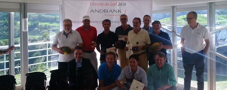 74 jugadores participaron en el Torneo de Golf Andbank en Valencia