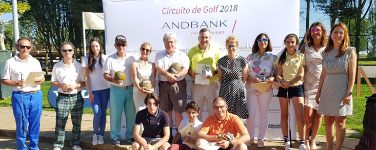 Una gran fiesta del Golf en el León Golf Club