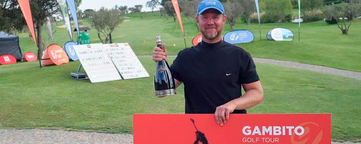 Andreas Andersson, ganador en Peralada