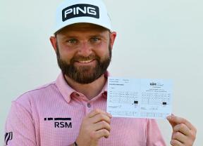 Andy Sullivan firma 61 golpes para liderar la primera jornada del Golf in Dubai Championship con Pep Anglés a cuatro golpes