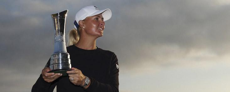 Anna Nordqvist consigue su tercer Major y se mete en la Solheim Cup