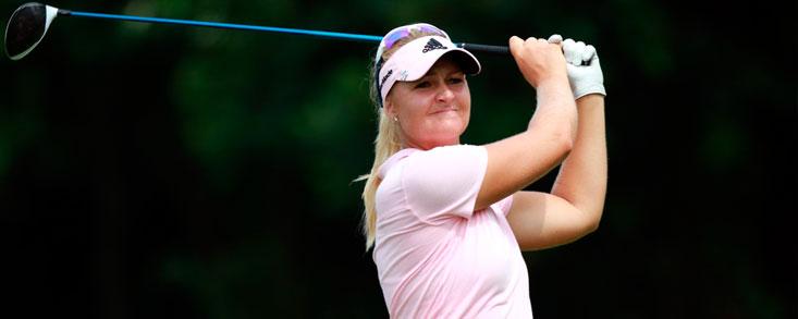 Anna Nordqvist alcanza el liderato en una ronda sin terminar