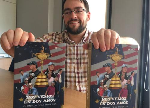 Antonio Sándeto: 'La Ryder es el mejor torneo del mundo y este libro cuenta muchos de sus secretos'