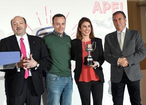 El golf y sus valores, presentes en la entrega de premios de la APEI