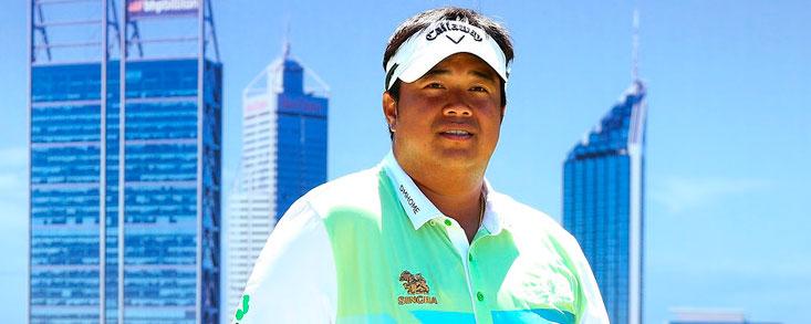 Kiradech Aphibarnrat gana en Perth su cuarto título del Tour Europeo
