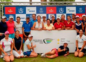 El golf femenino apoya la candidatura Costa Brava-Barcelona 2022
